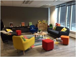 salle de créativité BNP Paribas Cardif