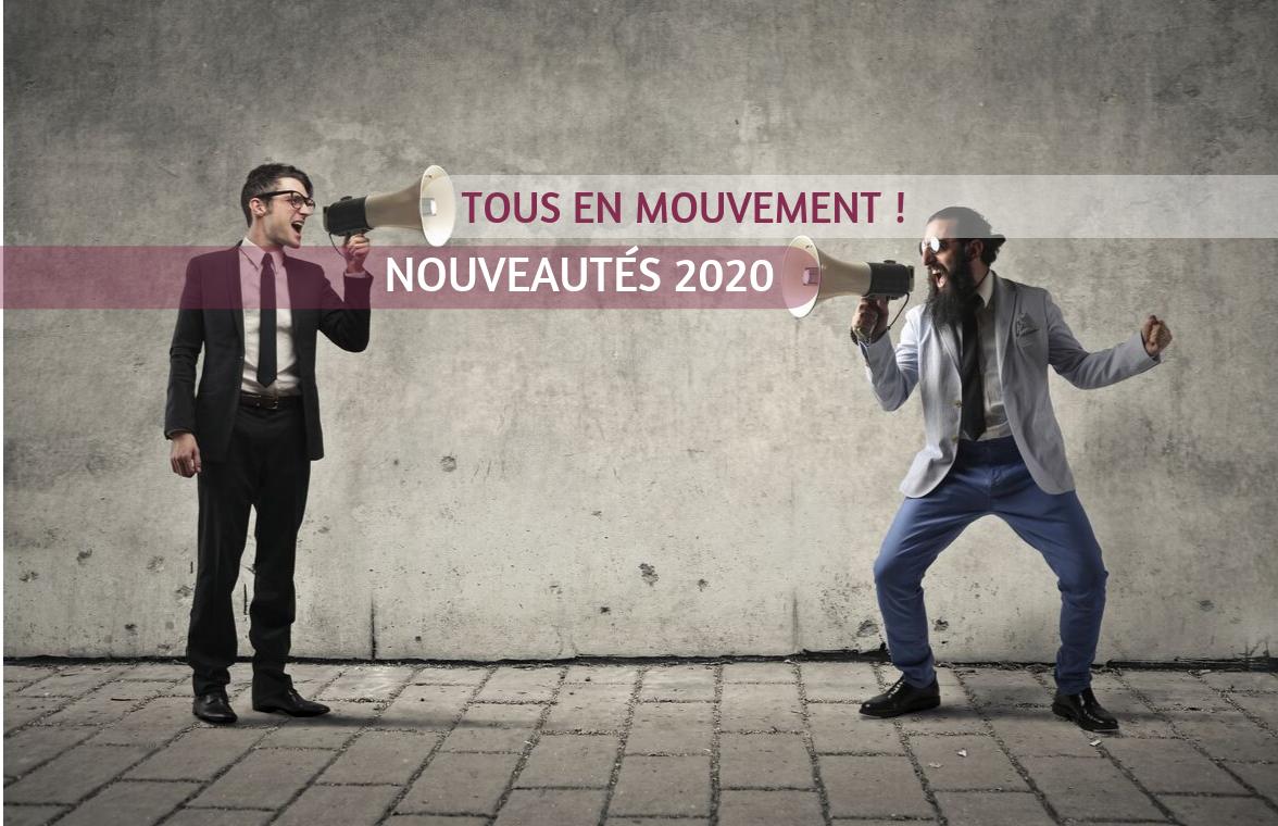 tous en mouvement ! nouveautés 2020